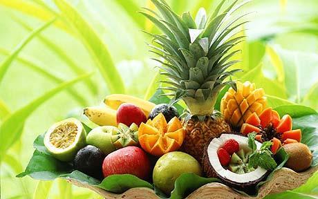 Диета на тропических фруктах