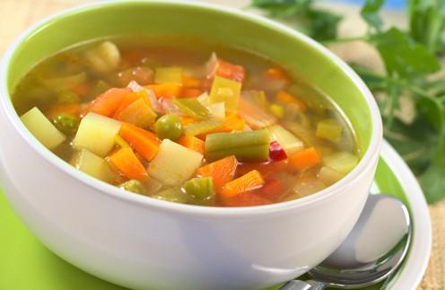 Как приготовить овощной суп для похудения