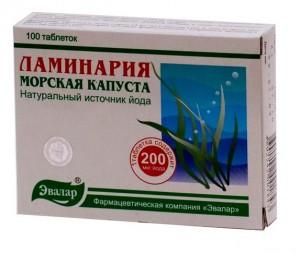 Ламинария для похудения: таблетки