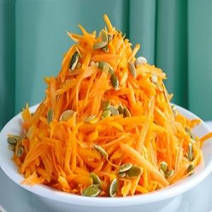 Вкусные тыквенные салаты