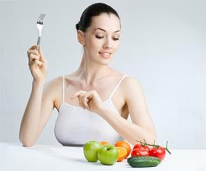 Овощной салат для щелочной диеты
