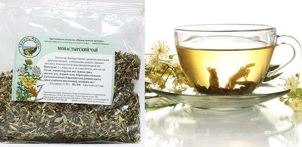 Травяной монастырский чай для похудения