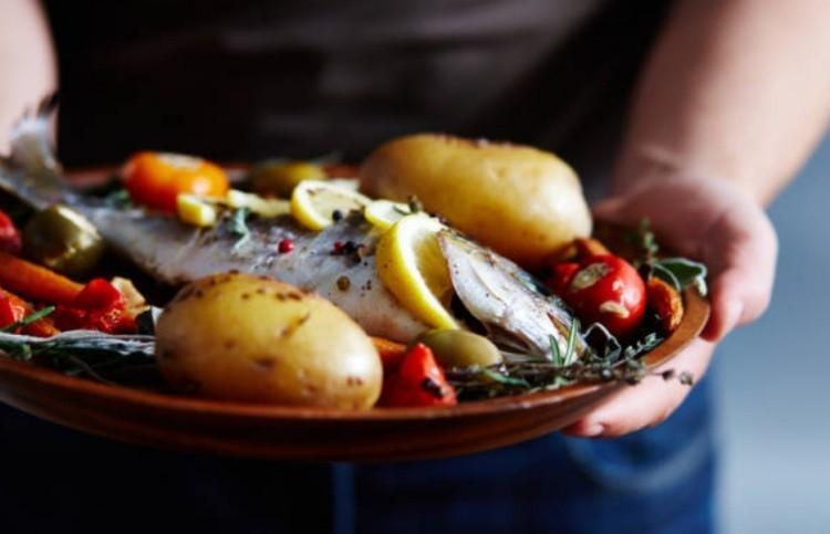 Рыбное блюдо