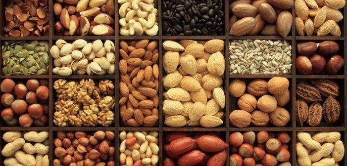 Калорийность орехов семян